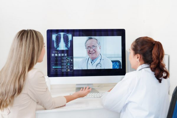Getting consultation of orthopedic surgeon